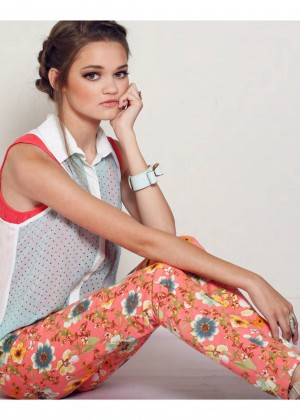 Ciara Bravo - Afterglow Magazine October 2014