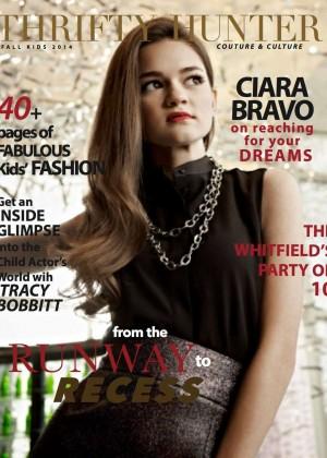 Ciara Bravo - Thrifty Hunter Magazine Cover (Fall 2014)