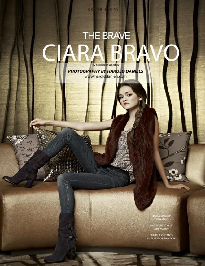 Ciara Bravo - Thrifty Hunter Magazine (Fall 2014)