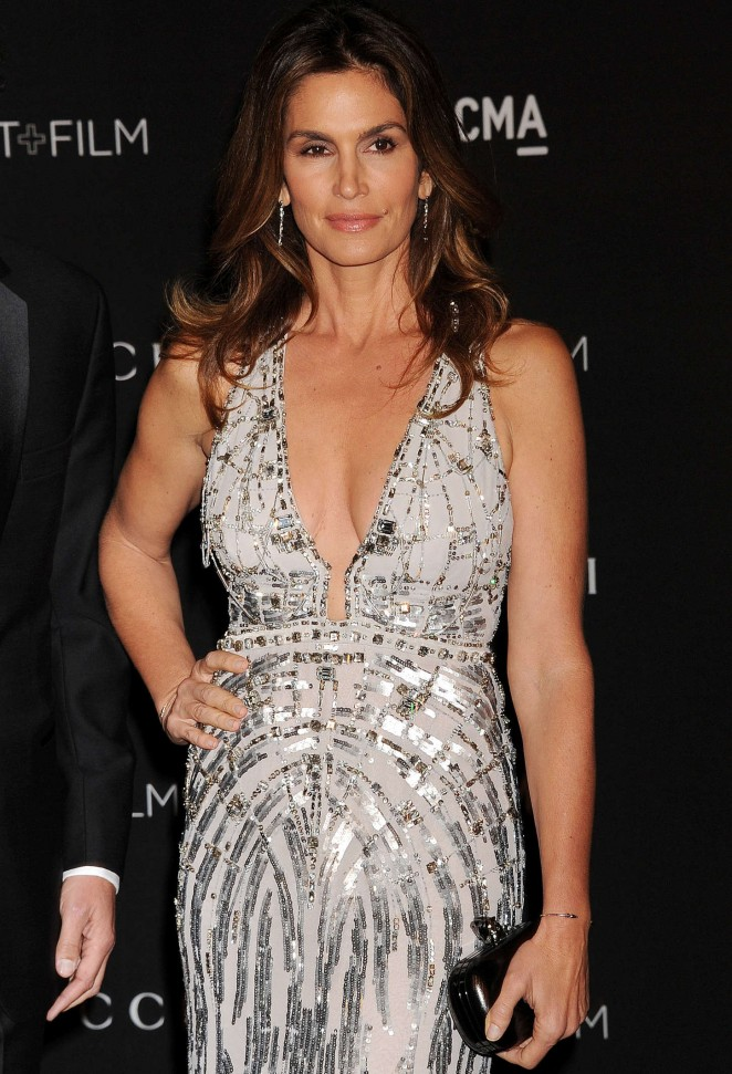 Cindy Crawford - LACMA Art + Film Gala 2014 in LA
