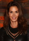 Cindy Crawford In a Leather dress-01