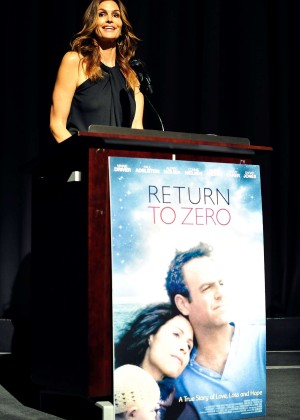 Cindy Crawford: Return To Zero Premiere -07