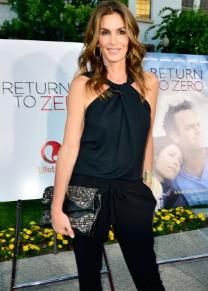 Cindy Crawford: Return To Zero Premiere -08