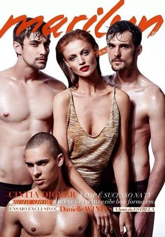 Cintia Dicker – Marilyn Magazine Cover 2014