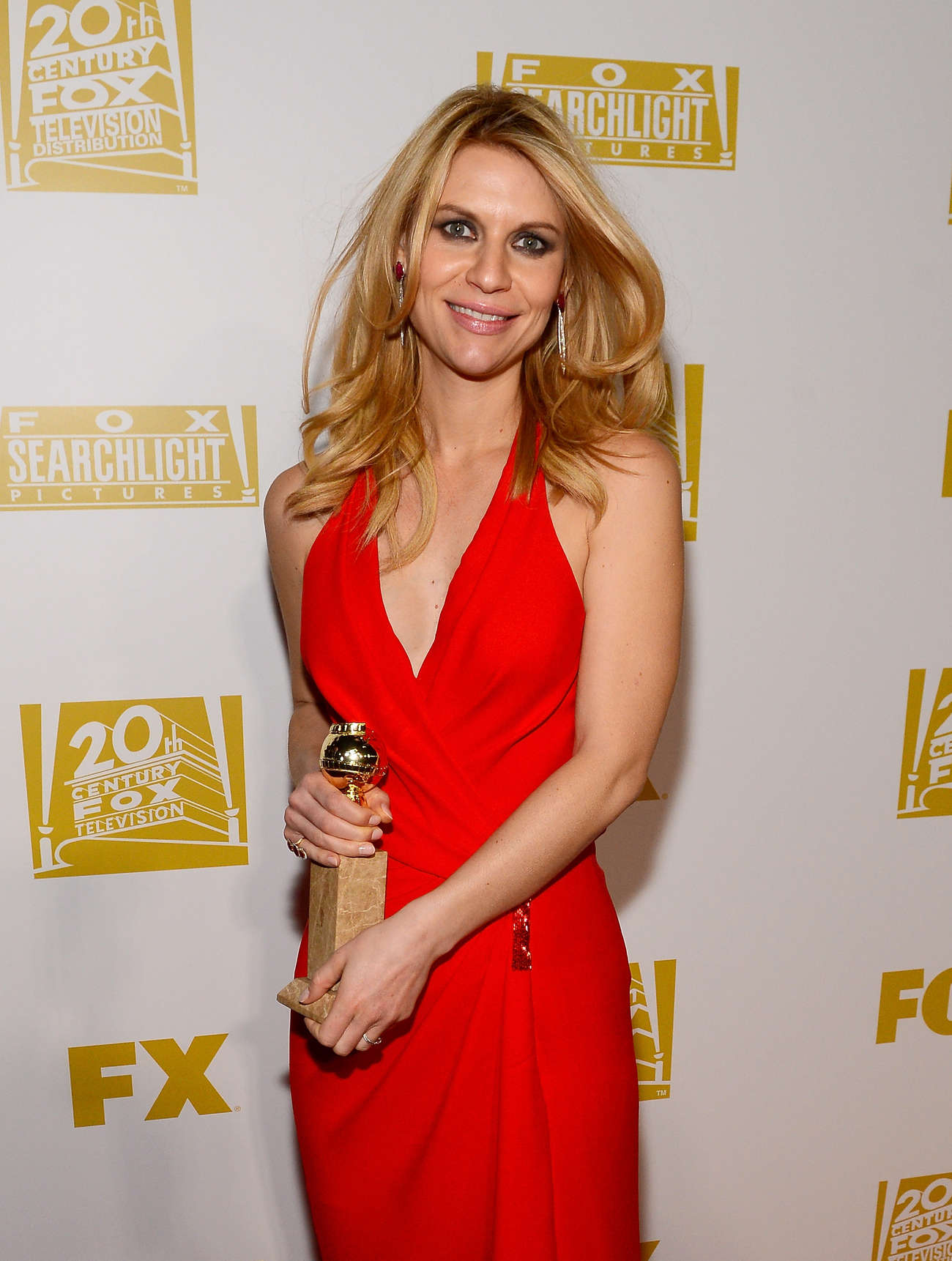 Claire Danes - Fox Golden Globe 2013 party in Beverly Hills