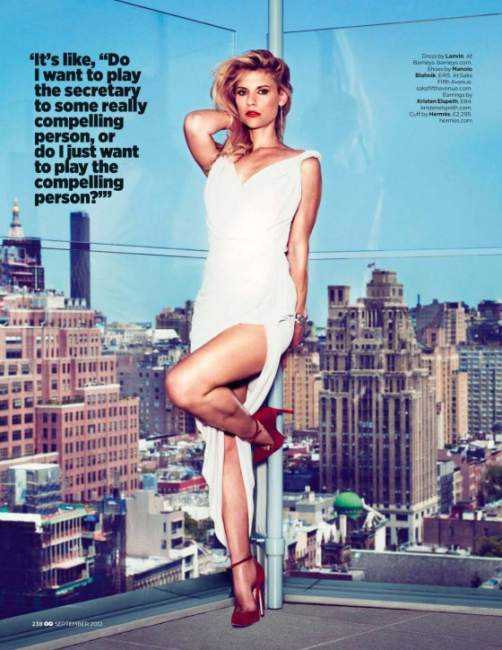 Claire Danes hot for GQ UK Magazine