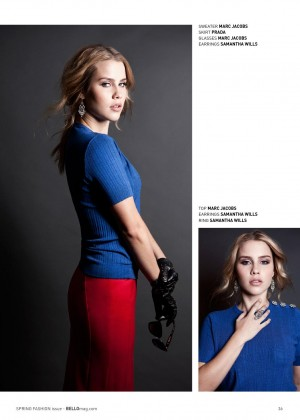 Claire Holt: Bello Magazine -06