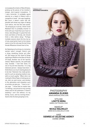 Claire Holt: Bello Magazine -11