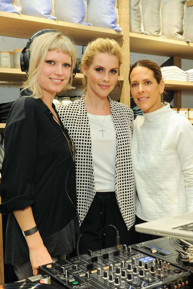 Claire Holt: Lou and Grey Store Opening -01