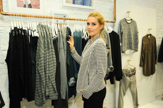 Claire Holt: Lou and Grey Store Opening -02