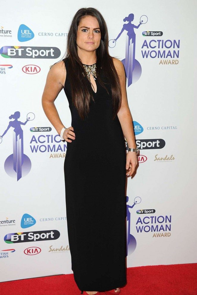 Claire Rafferty - BT Sport Action Woman Awards in London