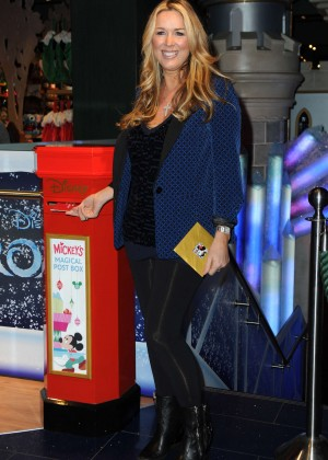 Claire Sweeney - Share The Magic Christmas Charity Launch in London