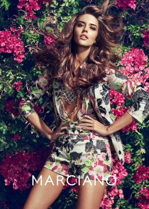 Clara Alonso: Guess by Marciano 2014 -04