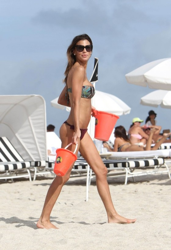 Claudia Galanti - Bikini in Miami -25