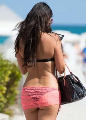 Claudia Roman Bikini Photos: Miami 2014 -08