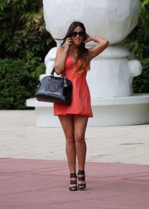 Claudia Romani in Mini Dress -07