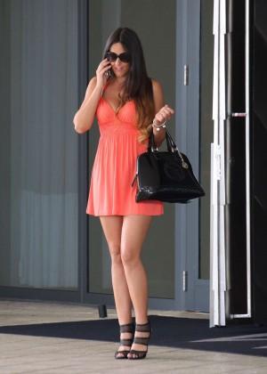 Claudia Romani in Mini Dress -15