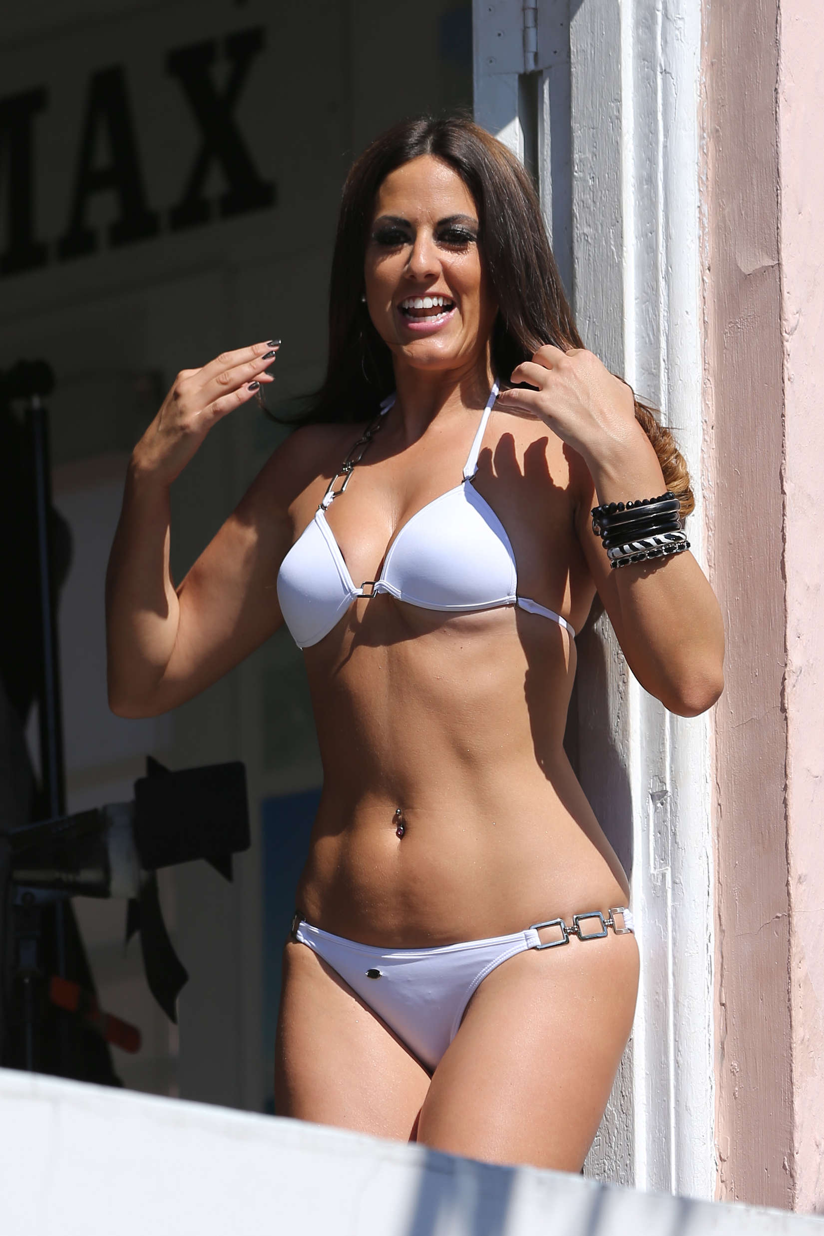 Claudia Romani Amp Precious In Bikini Shoot Calendar Images
