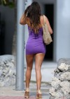 Claudia Romani in mini dress -02