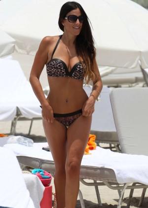 Claudia Romani Bikini Photos: Miami 2014 -02