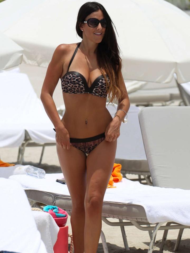 Claudia Romani 2014 : Claudia Romani Bikini Photos: Miami 2014 -02