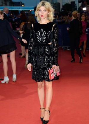 "Clemence Poesy - ""Get On Up"" Premiere during 40th Deauville American Film Festival in France"