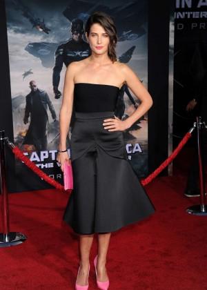Cobie Smulders - Captain America: The Winter Soldier Premiere -03