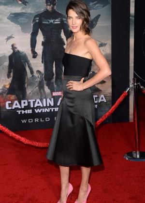 Cobie Smulders - Captain America: The Winter Soldier Premiere -07