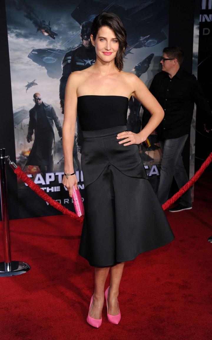 Cobie Smulders - Captain America: The Winter Soldier Premiere -08