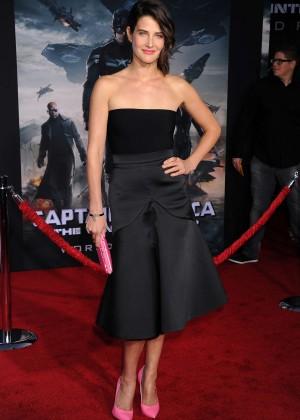 Cobie Smulders - Captain America: The Winter Soldier Premiere -09