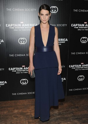 Cobie Smulders: Captain America: The Winter Soldier Premiere -01