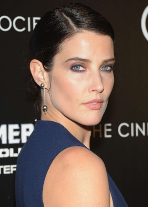 Cobie Smulders: Captain America: The Winter Soldier Premiere -02