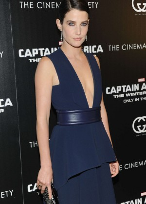 Cobie Smulders: Captain America: The Winter Soldier Premiere -07
