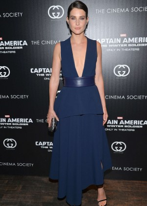 Cobie Smulders: Captain America: The Winter Soldier Premiere -08