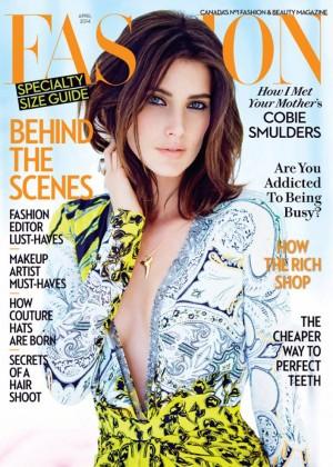 Cobie Smulders: Fashion Magazine -01