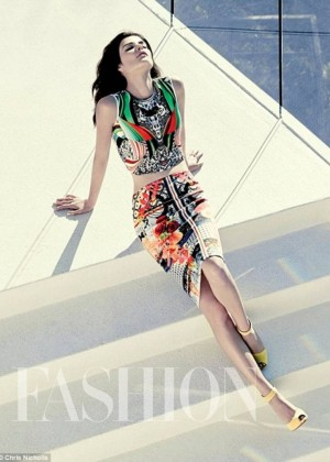 Cobie Smulders: Fashion Magazine -03