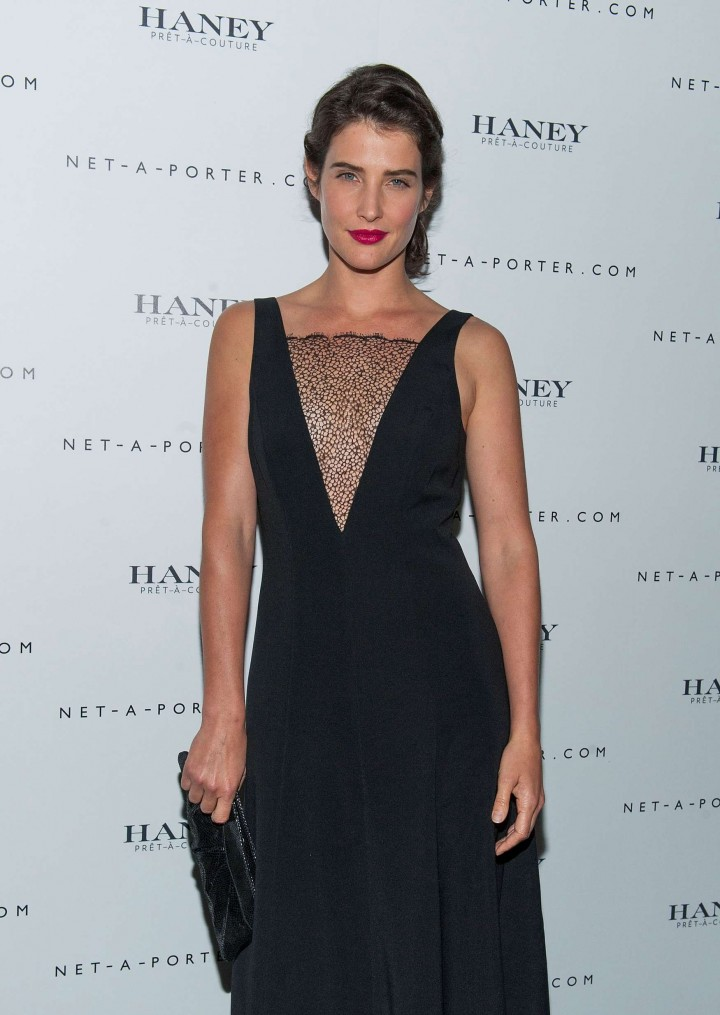 ece6395f789e2 Cobie Smulders – Net-A-Porter Hosts Haney Pret-A-Couture Launch ...