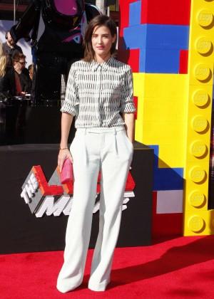 Cobie Smulders: The LEGO Movie Premiere -04