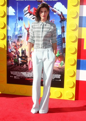 Cobie Smulders: The LEGO Movie Premiere -06