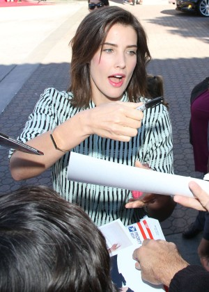 Cobie Smulders: The LEGO Movie Premiere -08