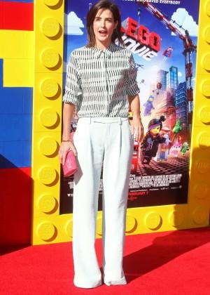 Cobie Smulders: The LEGO Movie Premiere -13