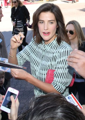 Cobie Smulders: The LEGO Movie Premiere -14