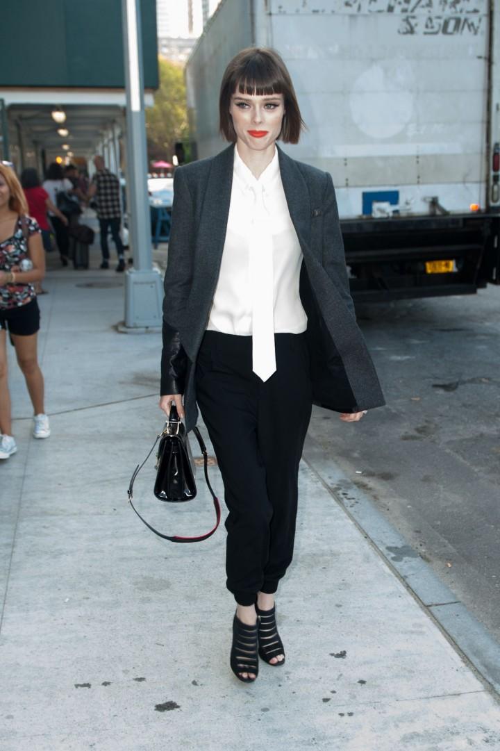 Coco Rocha at NYC Fashion Week