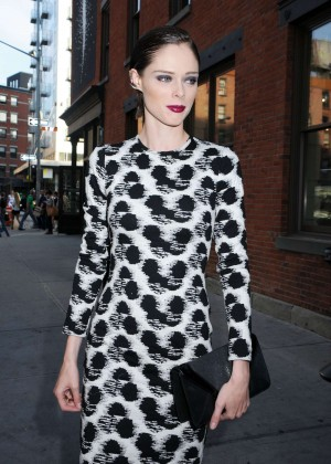 Coco Rocha - Christian Siriano's Celebration of his new fragrance in NYC