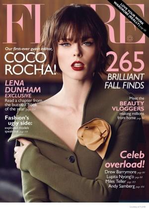 Coco Rocha - Flare Magazine (November 2014)