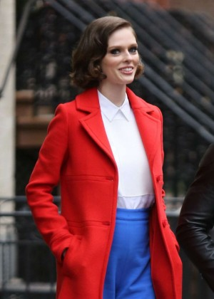 "Coco Rocha - Filming ""The Face"" in NYC"