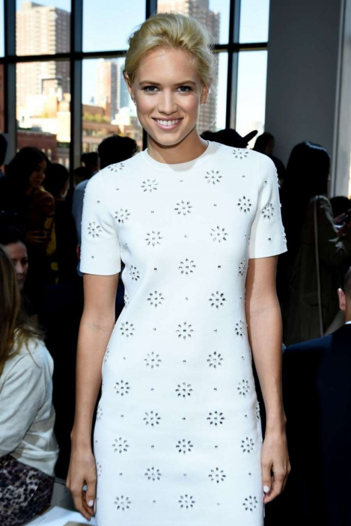Cody Horn - Michael Kors Fashion Show in NYC