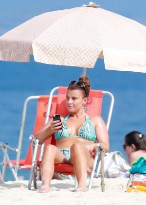 Coleen Rooney Bikini: 2014 in Rio de Janeiro -11