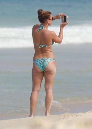 Coleen Rooney Bikini: 2014 in Rio de Janeiro -12
