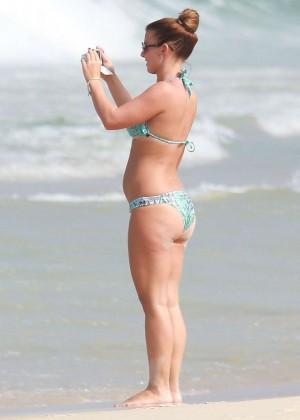 Coleen Rooney Bikini: 2014 in Rio de Janeiro -13